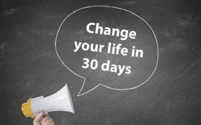Wat is jouw 30 dagen uitdaging?